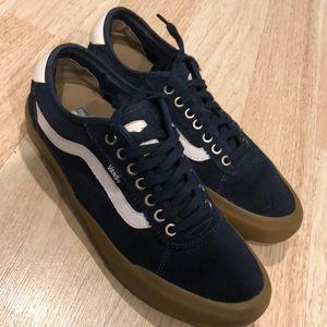 Vans UltraCush Pro Shoes Size 9.5 Blue/White/Gum
